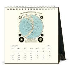 cavallini calendars cavallini co 2018 celestial desk calendar the paper parlour