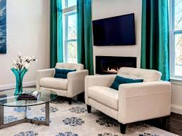 furniture mesmerizing turquoise living room curtains and