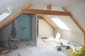 chambre avec salle d eau amenagement chambre avec salle d eau sur charpente traditionnelle