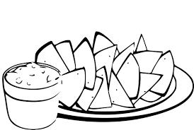 coloriage cuisine coloriage cuisine mexicaine à imprimer
