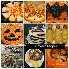 halloween recipes treats snacks ideas food pinterest