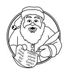 father christmas clipart black and white clipartxtras