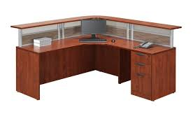 Small Office Reception Desk by Reception Desks Source Office Furniture Canada