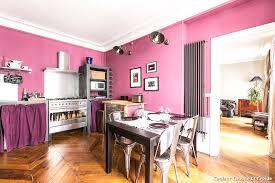 cuisine chaude couleur chaude et froide with éclectique cuisine décoration de la