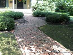 large brick pavers small garden design ideas small perennial