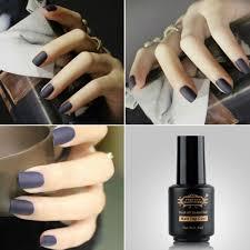 perfect summer matt top coat nail art uv gel polish matte top coat