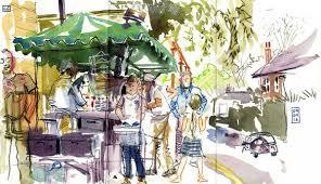sheffield city of makers urban sketching workshop