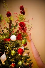 decorative picks can make a great inexpensive tree topper