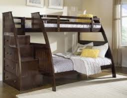 Building Plans For Twin Over Full Bunk Beds With Stairs by Full Size Loft Bed With Stairs Foter