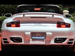 porsche 911 for sale in florida 2008 porsche 911 turbo cabriolet 6 speed manual transmission for