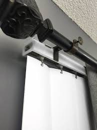 amazon com nono bracket curtain rod bracket attachment for