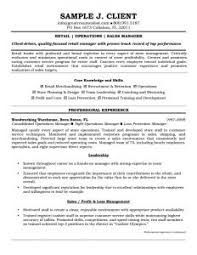 Resume Example Retail by Winsome Resume Examples For Retail 10 Samples Sample Profit And