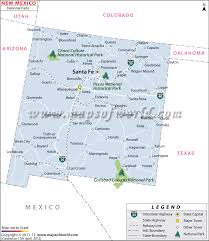 New Mexico National Parks images Buy new mexico national parks map jpg