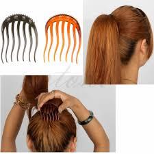 hair bun clip free shipping useful volume inserts hair clip bouffant bumpits