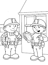 wendy noted report bob coloring pages bob builder