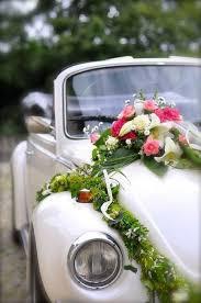 fleurs mariage décoration voiture fleurs et déco