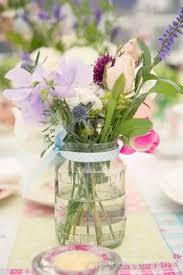 jar flowers jam jar flowers mariage jam jar flowers and weddings