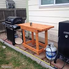 real life wood workbench plans and inspiration photos the outdoor prep table