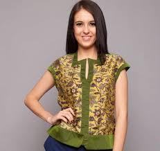 model baju atasan untuk orang gemuk 2015 model baju dan baju atasan batik wanita lengan pendek 1 baju batik atasan wanita