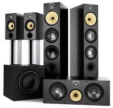 B W Bookshelf Speakers For Sale Bowers U0026 Wilkins 683 S2 Speaker System Sound U0026 Vision