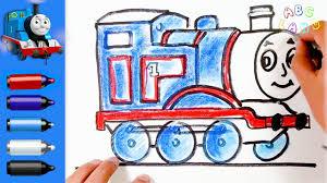 thomas friends draw thomas tank engine