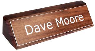 Office Desk Name Plate Archive With Tag Desk Name Plates Wood Onsingularity