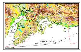 Maps Of Alaska by Map Of Alaska Ed U0027s Kasilof Seafoods