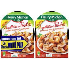 plat cuisiné fleury michon plats cuisinés poulet pommes de terre fleury michon fleury michon