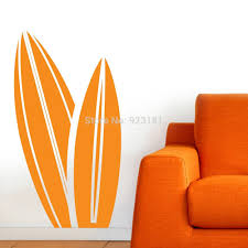 cheap surf board stickers find surf board stickers deals on line get quotations hot surf board silhouette sport wall art sticker decal home diy decoration wall mural removable bedroom