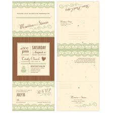 Seal And Send Wedding Invitations Rustic Lace Seal And Send Invitation Seal And Send Wedding