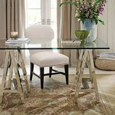 ava glass display wood desk ava glass display wood desk espresso stain potterybarn http www