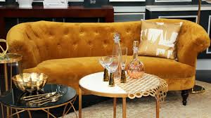 Gold Sofa Living Room Gold In Home Decor Steven And Chris