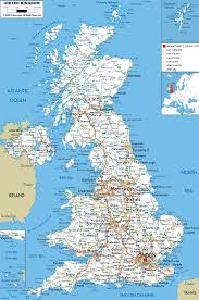 Map Of Northern France by Maps Of United Kingdom Of Great Britain And Northern Ireland Map