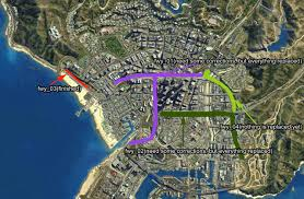 Me On The Map Map Wip Real California Architecture Gta5 Mods Com Forums