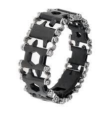leatherman steel tool bracelet images Leatherman tread 39 wearable tool 39 2017 metric black dlc with png