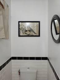 deco wc noir déco faillance salle de bain noir et blanc brest 3812 faience