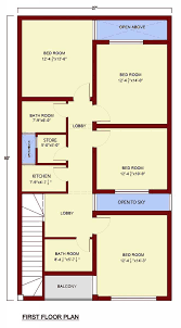 house floor plan by 360 design estate u2013 5 marla house