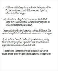 Teaching Objectives For Resume 35 Printable Teacher Resume Templates Free U0026 Premium Templates