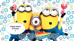 colors elegant happy birthday minions download with suggestion
