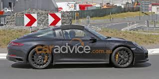 Porsche 911 Gts - 2017 porsche 911 gts targa spied photos 1 of 3