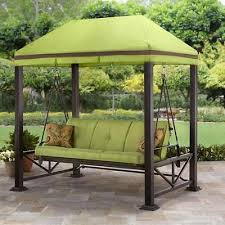Swings For Patios With Canopy Swing Gazebo Outdoor Covered Patio Deck Porch Garden Canopy 3