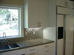 kitchen backsplash stainless steel tiles stainless steel tile backsplash houzz modern tiles for kitchen