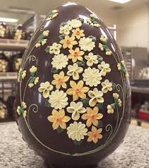 large easter eggs beautiful chocolate easter egg