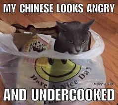 Racist Meme - my chinese looks angry racist meme