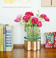 Gold Tall Vases Goldrush 40 Gold Diy Projects To Make This Weekend Brit Co