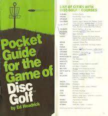 america u0027s earliest disc golf courses professional disc golf