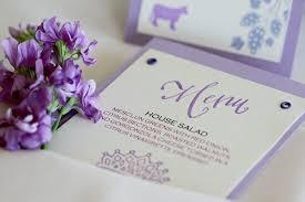 diy wedding menu cards studio city inspiration wedding place cards menus paper