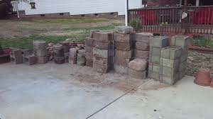 Garden Retaining Wall Blocks by Concrete Retaining Wall Cheap From Craigslist Youtube