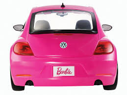 volkswagen beetle pink barbie volkswagen beetle and doll