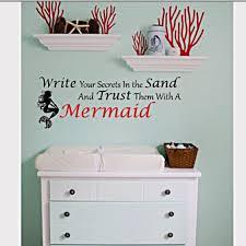 Mermaid Nursery Decor 30 Mermaid Nursery Decor Bathroom Organization